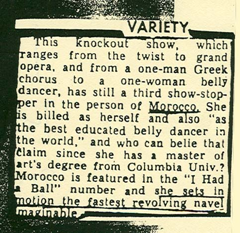 Variety Review 1963